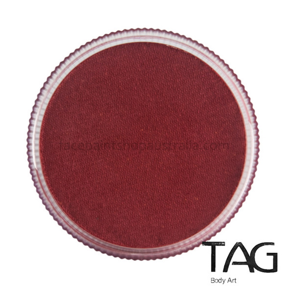TAG Body Art Face Paint Pearl Red