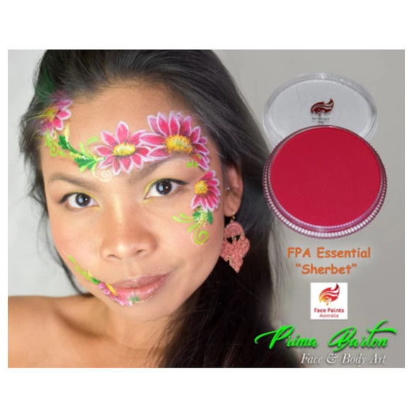 SHERBET PINK 30g essential by Face Paints Australia