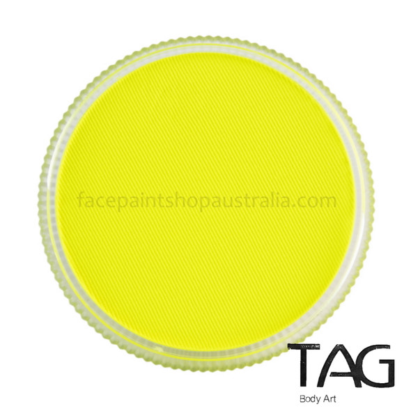 NEON YELLOW by TAG Body Art
