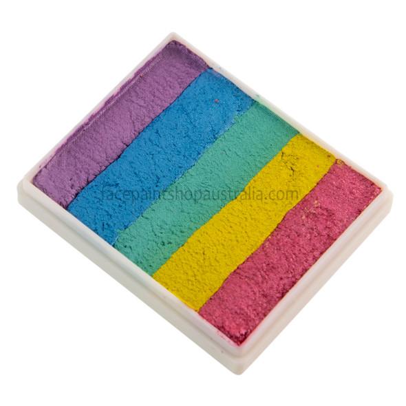 FAIRY NICE ALL PEARL Rainbow 50g split cake