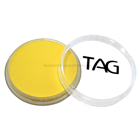 REGULAR CANARY YELLOW face and body paint by TAG