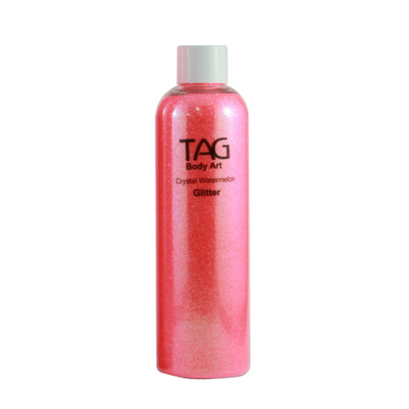 CRYSTAL WATERMELON HOLOGRAPHIC cosmetic glitter dust (loose) by TAG Body Art