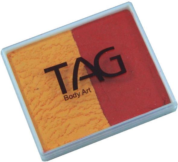 GOLDENORANGE-RED face paint split cake by TAG Body Art [regular] 50g