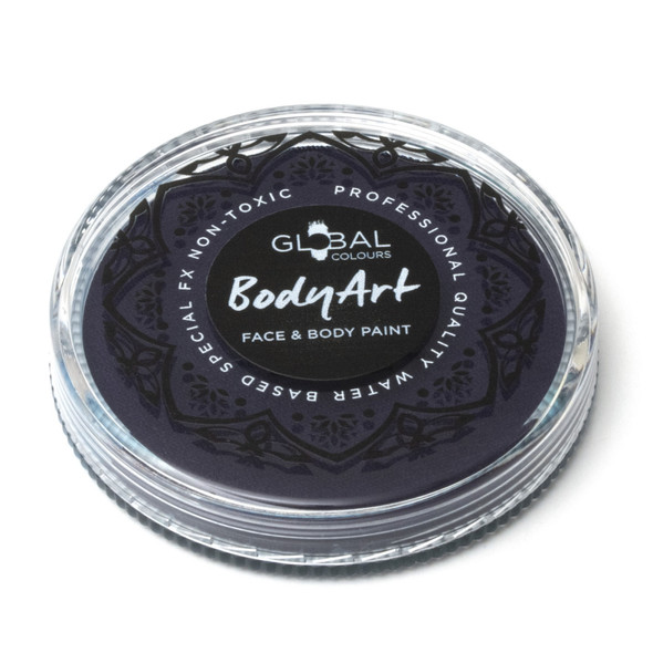 DARK BLUE Face and Body Paint Makeup by Global Colours 32g