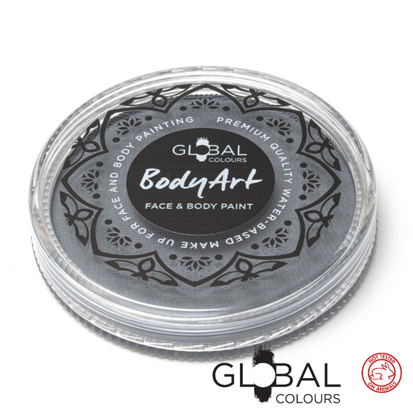 STONE GREY Face and Body Paint Makeup by Global Colours 32g *New Formula*