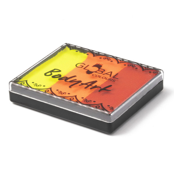 BRIGHTEST TIGER 50g Split Cake by Global Colours