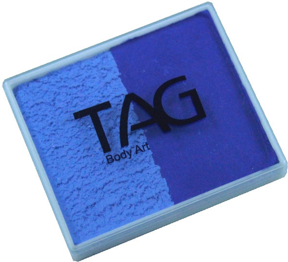 POWDER BLUE-ROYAL Split 50g Face and Body Paint by TAG Body Art