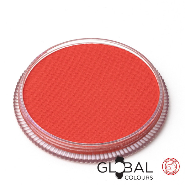ORANGE Face and Body Paint Makeup by Global Colours 32g