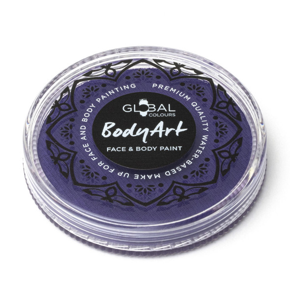 PURPLE Face and Body Paint Makeup by Global Colours 32g