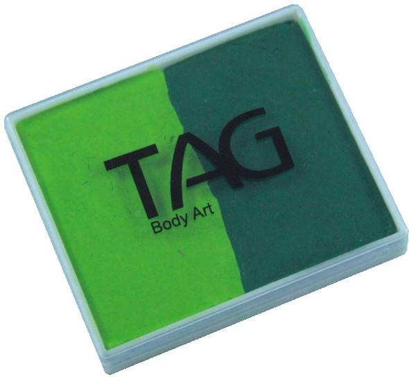 TAG regular 50g split green - light green