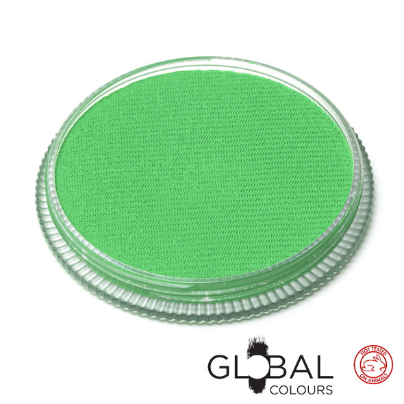 NEON UV TEAL Face and Body Paint Makeup by Global Colours 32g