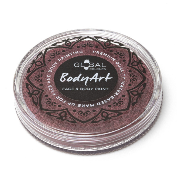 PEARL BURGUNDY Face and Body Paint Makeup by Global Colours 32g