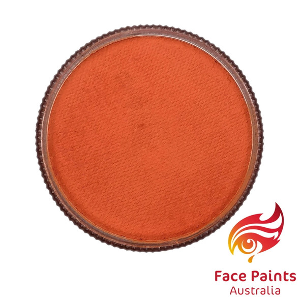 TANGERINE (ORANGE) 30g essential by Face Paints Australia