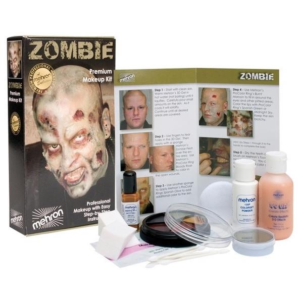 Mehron premium zombie makeup kit