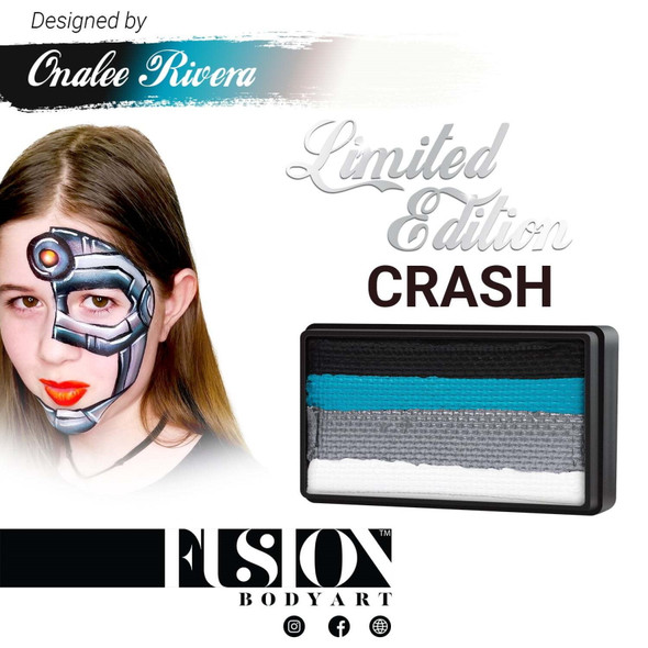 CRASH - Onalee Rivera - Fusion Body Art face paint 30g