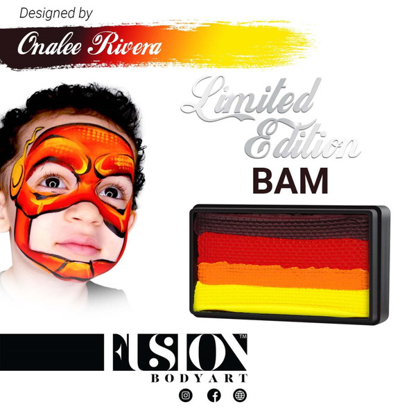 BAM - Onalee Rivera - Fusion Body Art face paint 30g