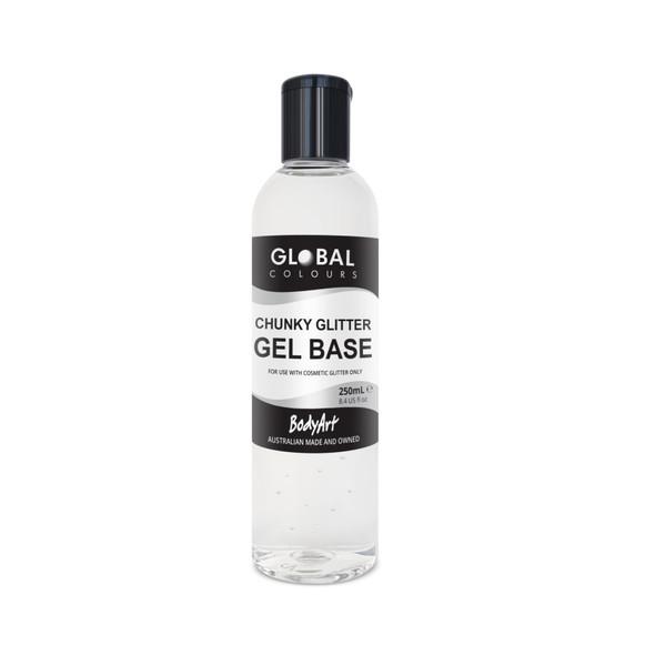 Chunky Gliter Gel Base 250ml / 8oz bottle
