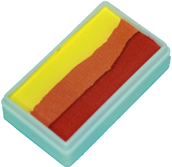 FLAME one stroke split cake 30g by TAG Body Art