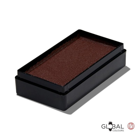 Brown 20g matte face and body paint Global Colours