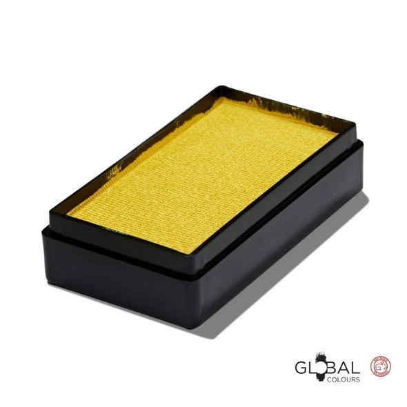 YELLOW LIGHT 20g  Face and Body Paint Makeup by Global Colours | Magnetic