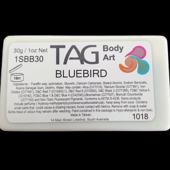 BLUEBIRD one-stroke face paint by TAG Body Art 30g