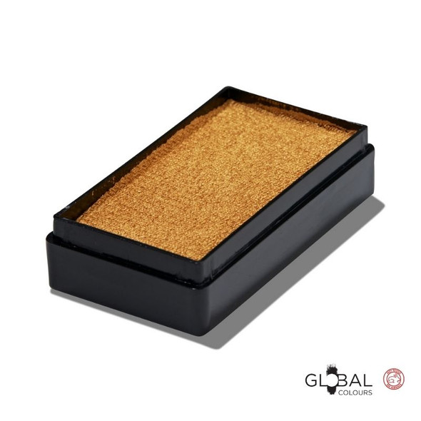 Gold 20g Face and Body Paint Global Colours Face Paint Shop Australia