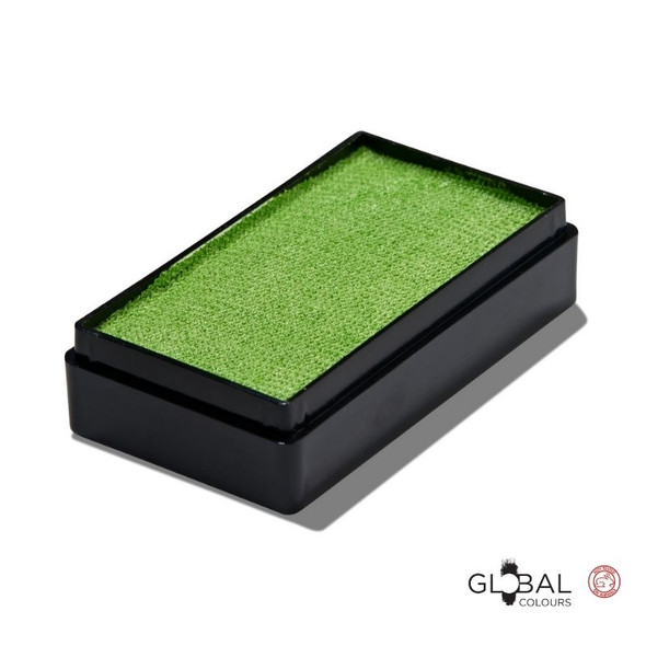 Pearl Lime Green 20g Face and Body Paint Global Colours Face Paint Shop Australia
