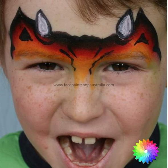 DRAGON one stroke split cake 30g by TAG Body Art
