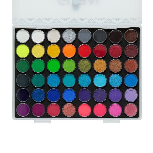 All You Need Grande Face and Body Art Set by Global Colours 48 Colour Palette Face Paint Shop Australia