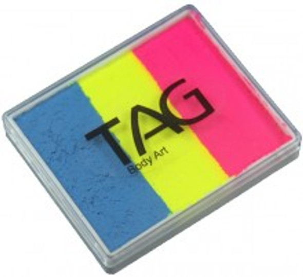 CARNIVAL Face and Body Paint 50g Split Cake by TAG Body Art