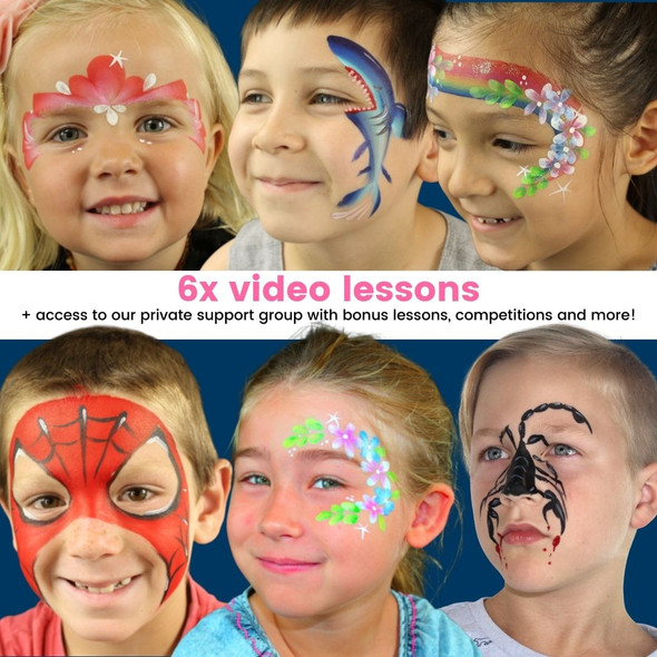 Face Paint School for Creative Kids