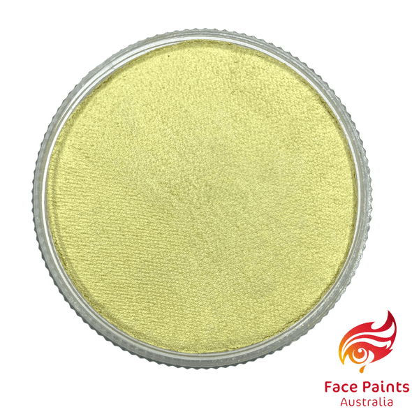 BRIDAL IVORY Metallix by Face Paints Australia