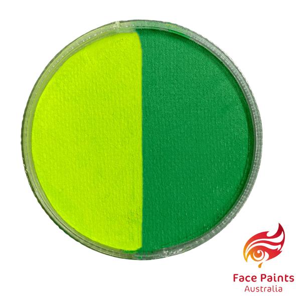Face paints australia lime green split 30g