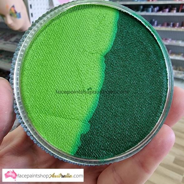LIME/GREEN SPLIT 30g essential by Face Paints Australia