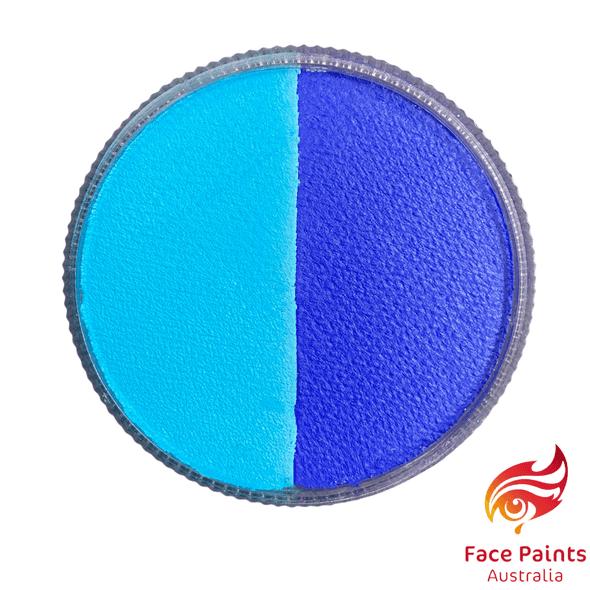 Face paints australia BLUE split 30g