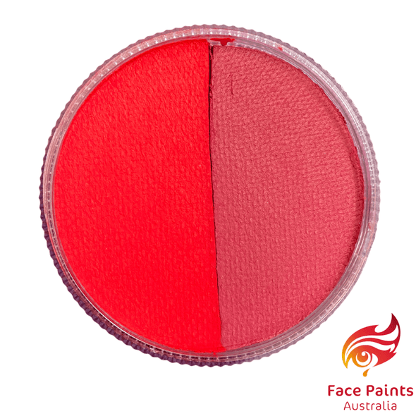 Face paints australia RED / CHERRY split 30g