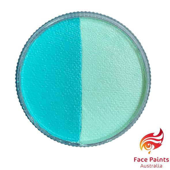 Face paints australia MINT/ TEAL split 30g