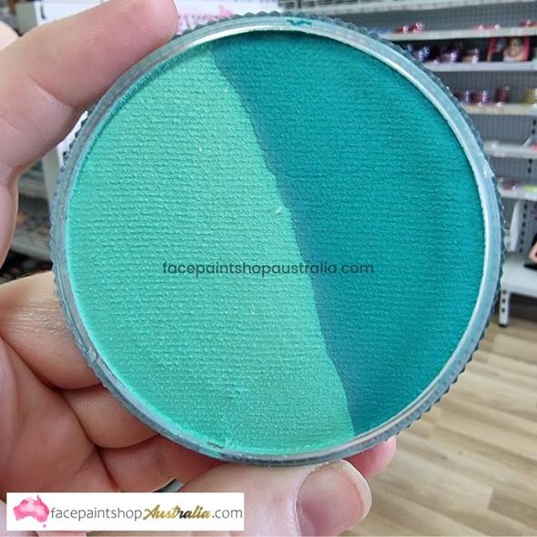 MINT/TEAL SPLIT 30g essential by Face Paints Australia