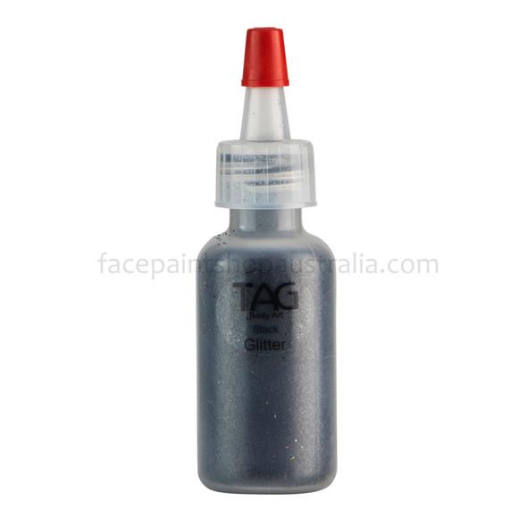 BLACK Cosmetic Glitter Dust by Tag Body Art