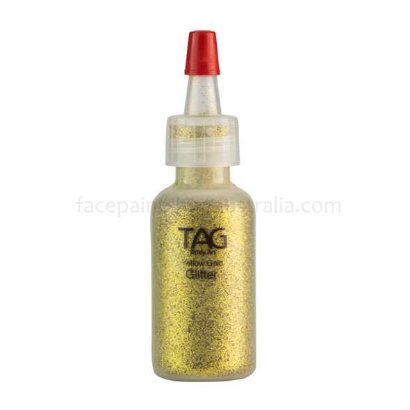 GOLD Cosmetic Glitter Dust (loose) by Tag Body Art