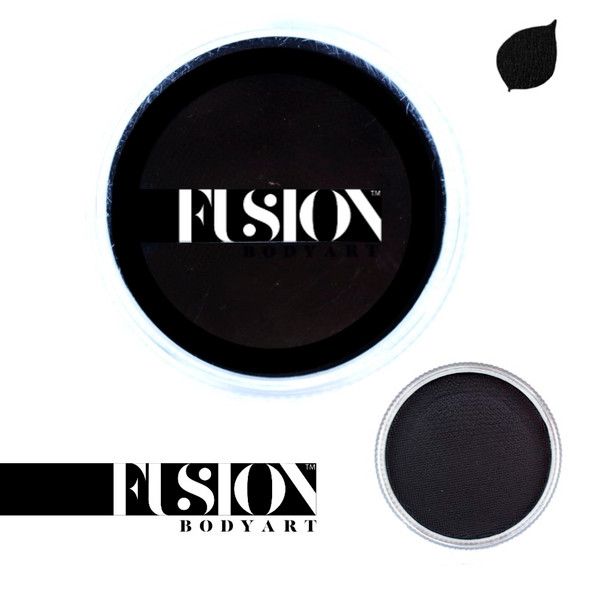 PRIME STRONG BLACK Face and Body Paint 32g by Fusion Body Art