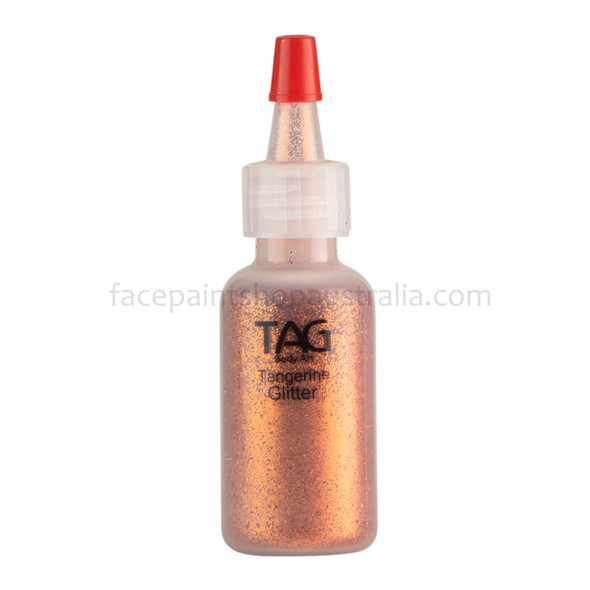 TANGERINE Cosmetic Glitter Dust by Tag Body Art