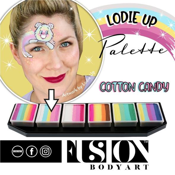 Lodie Up Pastel Palette Cotton Candy Fusion Body Art Face Paint Palette