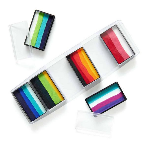 Global Colours Rainbow Burst face and body paint