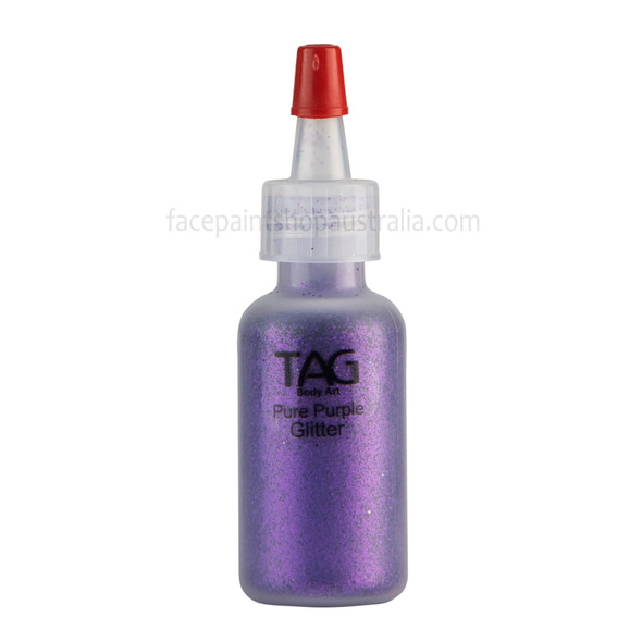 PURE PURPLE Cosmetic Glitter Dust by Tag Body Art