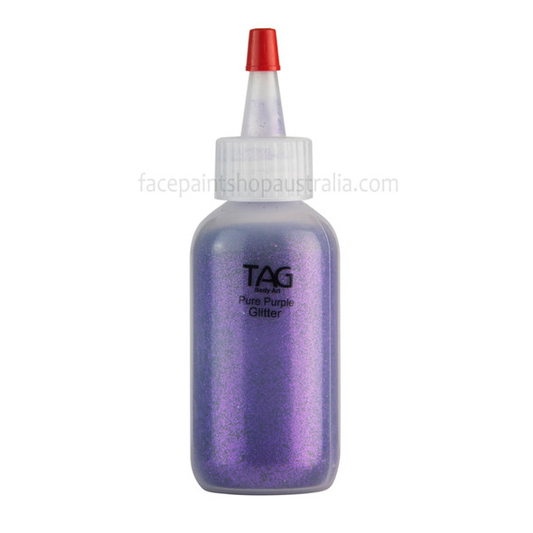 PURE PURPLE Cosmetic Glitter Dust (loose) by Tag Body Art