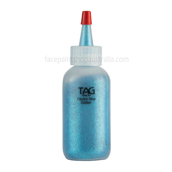 ELECTRIC BLUE Cosmetic Glitter Dust by Tag Body Art