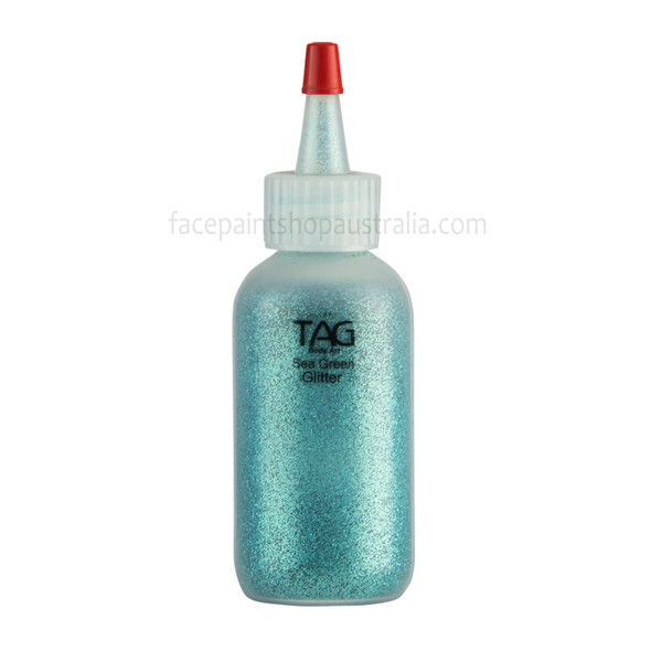 SEA GREEN Cosmetic Glitter Dust (loose) by Tag Body Art