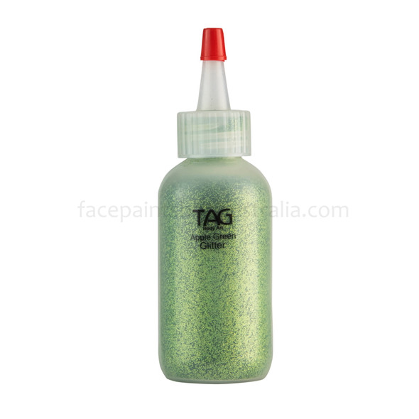 Cosmetic glitter apple green 60ml/ 50g