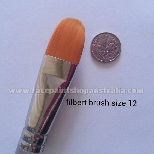 TAG Bodyart filbert brush size 12 face paint brush